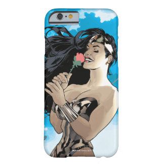 Coque Barely There iPhone 6 Couverture comique #178 de femme de merveille