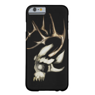 Coque Barely There iPhone 6 Crâne avec le cas d'Antler Iphone 6