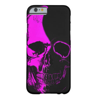 Coque Barely There iPhone 6 Crâne Couche color