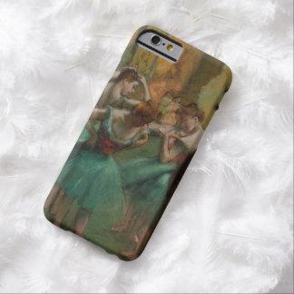 Coque Barely There iPhone 6 Danseurs d'illustration de ballet roses et Edgar
