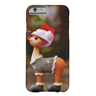 Coque Barely There iPhone 6 Décorations de renne - renne de Noël
