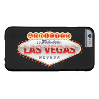 Coque Barely There iPhone 6 Dépendant signe drôle à Las Vegas, Nevada