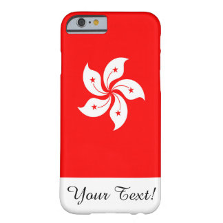 Coque Barely There iPhone 6 Drapeau de Hong Kong