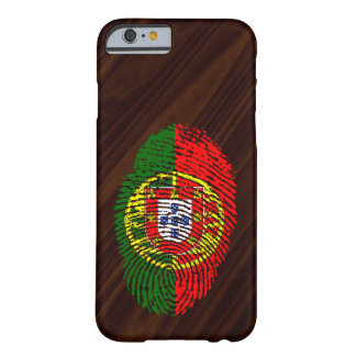 Coque Barely There iPhone 6 Drapeau d'empreinte digitale de contact de
