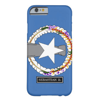 Coque Barely There iPhone 6 Drapeau des Mariannes du Nord