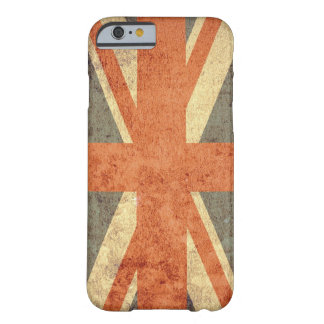 Coque Barely There iPhone 6 Drapeau du Royaume-Uni - grunge