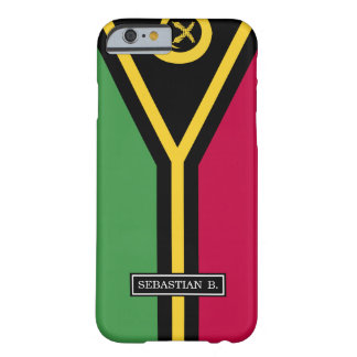 Coque Barely There iPhone 6 Drapeau du Vanuatu