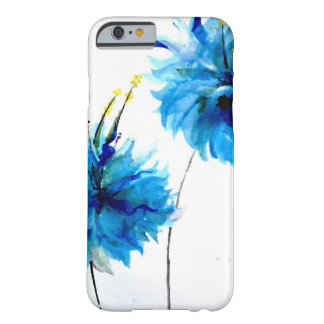 Coque Barely There iPhone 6 écrasement bleu