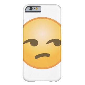 Coque Barely There iPhone 6 Emoji Unamused