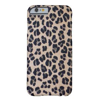 Coque Barely There iPhone 6 Empreinte de léopard élégant à la mode, cas de