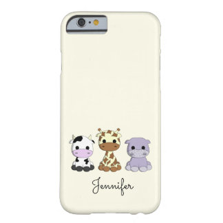 Coque Barely There iPhone 6 Enfants mignons de nom de bande dessinée