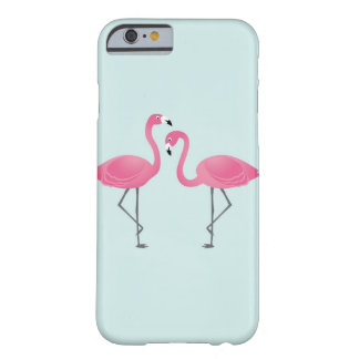 Coque Barely There iPhone 6 Flamants