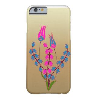 Coque Barely There iPhone 6 Fleurs colorées de vecteur