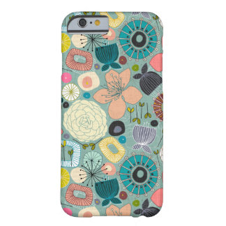 Coque Barely There iPhone 6 fleurs orientales