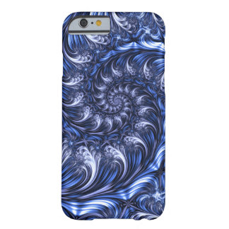 Coque Barely There iPhone 6 Fractale Apple/cas androïde - spirale sans fin