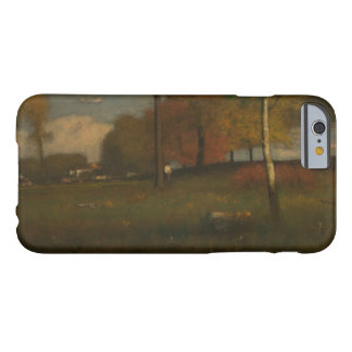 Coque Barely There iPhone 6 George Inness - près du village, octobre