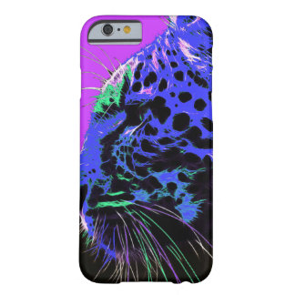 Coque Barely There iPhone 6 Guépard de Colorfull