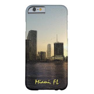 Coque Barely There iPhone 6 Horizon de Miami, la Floride