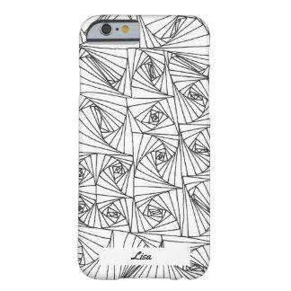 Coque Barely There iPhone 6 Illusion tirée par la main