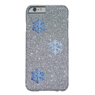 Coque Barely There iPhone 6 iPhone 6/6s, à peine là cas de flocon de neige de