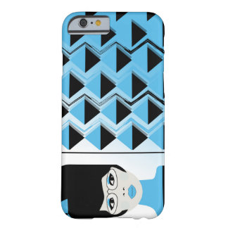 Coque Barely There iPhone 6 iPhone 6/6s, FILLE MODERNE de GRANDS CHEVEUX de
