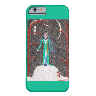 Coque Barely There iPhone 6 Jeune fille de neige