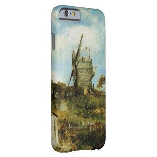 Coque Barely There iPhone 6 La Galette, moulin à vent vintage de Van Gogh Le