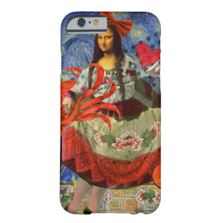 Coque Barely There iPhone 6 La Mona Lisa