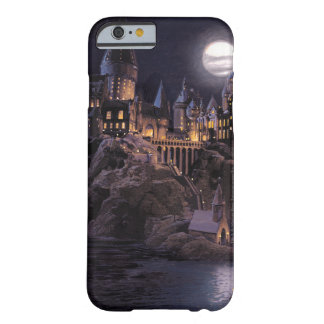 Coque Barely There iPhone 6 Lac castle | de Harry Potter grand à Hogwarts