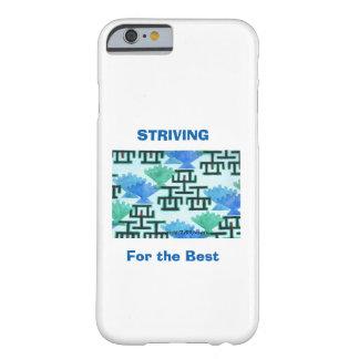 Coque Barely There iPhone 6 Le bâton de mesure