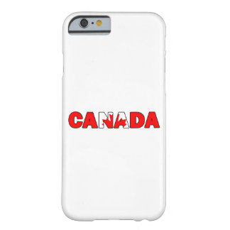 Coque Barely There iPhone 6 Le Canada