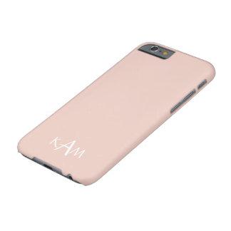 Coque Barely There iPhone 6 Le concepteur 2017 du printemps colore pâle -