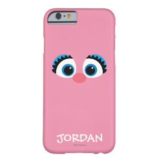 Coque Barely There iPhone 6 Le grand visage   d'Abby Cadabby ajoutent votre