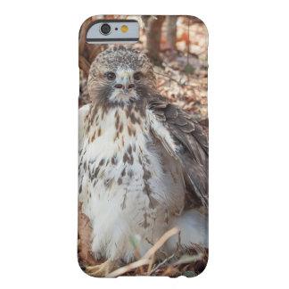 Coque Barely There iPhone 6 Le rouge a coupé la queue le faucon doublé