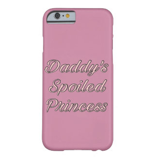 Coque Barely There iPhone 6 Le spoI du papa a mené la princesse