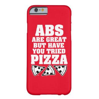 Coque Barely There iPhone 6 Les ABS sont grands mais vous ont pizza entendue