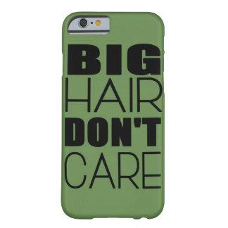 Coque Barely There iPhone 6 Les grands cheveux ne s'inquiètent pas le cas de
