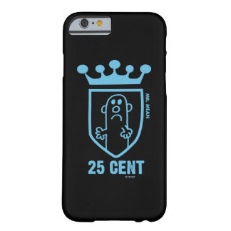 Coque Barely There iPhone 6 M. bleu Mean Crest et couronne