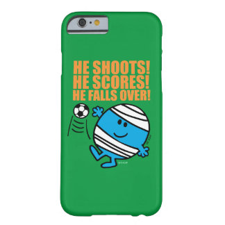 Coque Barely There iPhone 6 M. Bump Playing Soccer