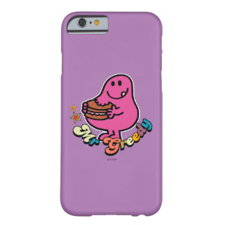 Coque Barely There iPhone 6 M. coloré Greedy Eating