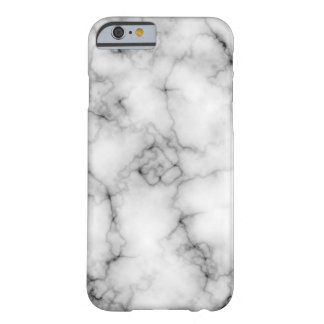 Coque Barely There iPhone 6 Marbre blanc très réaliste