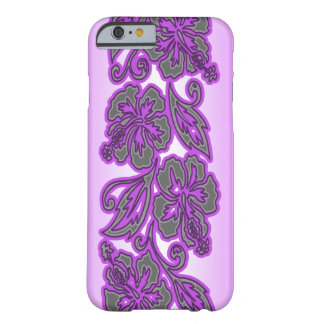 Coque Barely There iPhone 6 Mélange floral hawaïen de ketmie de Moana