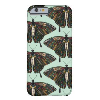 Coque Barely There iPhone 6 menthe de papillon de machaon