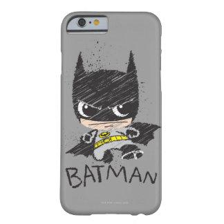 Coque Barely There iPhone 6 Mini croquis classique de Batman