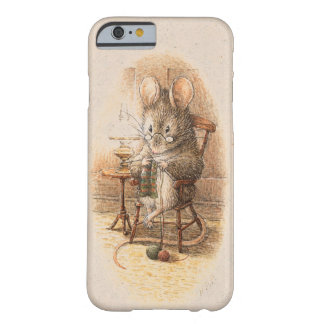 Coque Barely There iPhone 6 Mme Dormouse Knitting
