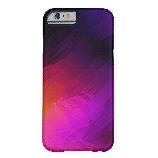 Coque Barely There iPhone 6 Modèle coloré lumineux de course de peinture