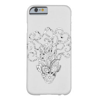 Coque Barely There iPhone 6 monochrome mystic animal