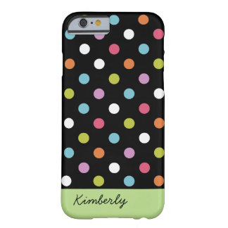 Coque Barely There iPhone 6 Monogramme Girly moderne