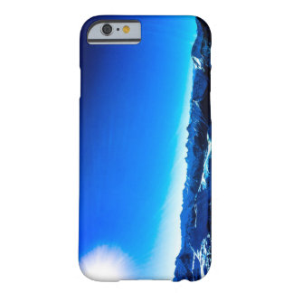 Coque Barely There iPhone 6 Montagne bleue