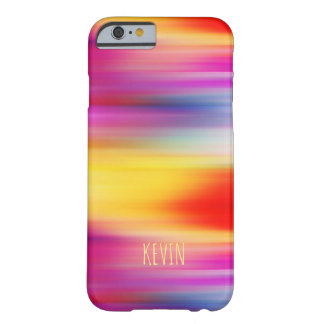 Coque Barely There iPhone 6 Motif abstrait coloré lumineux